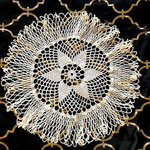 Pretty Lacey Handmade Doily